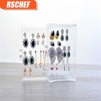 RSCHEF 1 pcs Europe Plastic originality storage transparent box drawer jewelry business card box