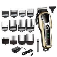 Tondeuse professionnelle puissante pour hommes, outil pour salon de coiffure, outil pour couper les cheveux, tondeuse électrique