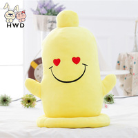 1 Pc Lovely Banana Pillow Funny Creative Birthday Gifts For Children Kids Baby Girls Toys Stuffed