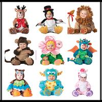 Fleece baby Romper Set Baby Boys Girls rompers Jumpsuits Overalls 2016 Winter Animal Cosplay Shapes Halloween Christmas Costume
