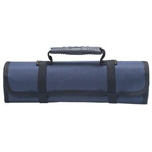 Image 4 - Oxford tuval araba araçları çantası oto tamir için taşınabilir bagaj organizatörü araç saklama kutusu kolu dayanıklı kurulum çantası