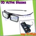 O envio gratuito de 2 pçs/lote ssg-5100gb para samsung 3d tv óculos de obturador ativo/bateria ssg-5100gb