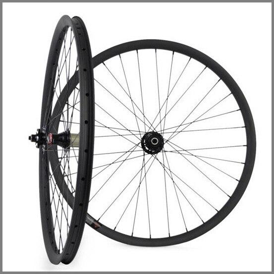 vollcarbon mountainbike räder höhe 20mm breite 30mm drahtreifen - Radfahren - Foto 4