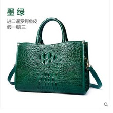 цена на yuanyu Genuine crocodile handbag for ladies genuine imported crocodile handbag large capacity genuine single shoulder bag