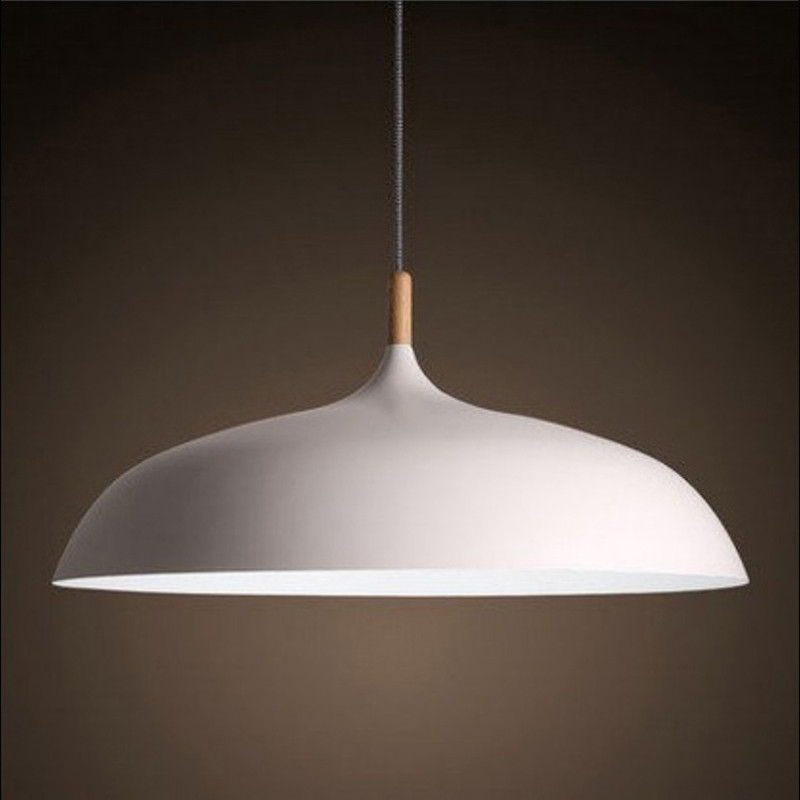 Modern Nordic Restaurant Pendant Lights Simple Dining Room Bar Cafe Wood Hanging Lamps Black / White 220v nordic wood art creative led wood lamps restaurant cafe living room bedroom bar solid wood match stick simple pendant light