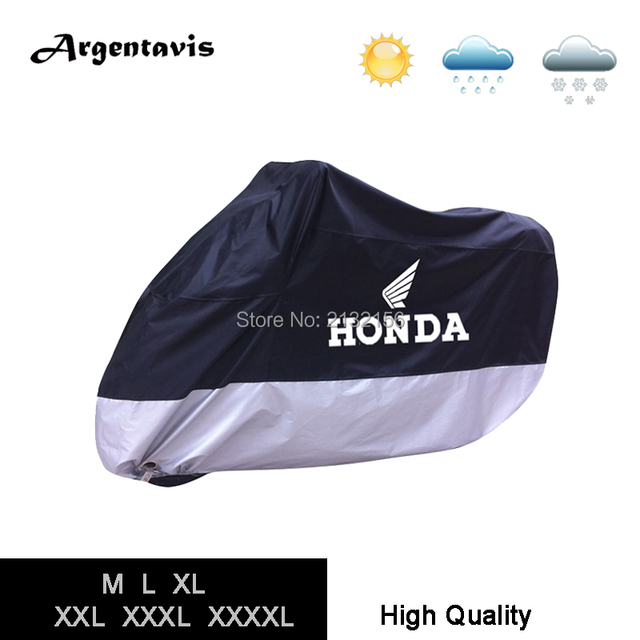Good quality Motorcycle cover fit for Honda Suzuki Harley Davidson waterproof Anti-dust scooter tent accessories