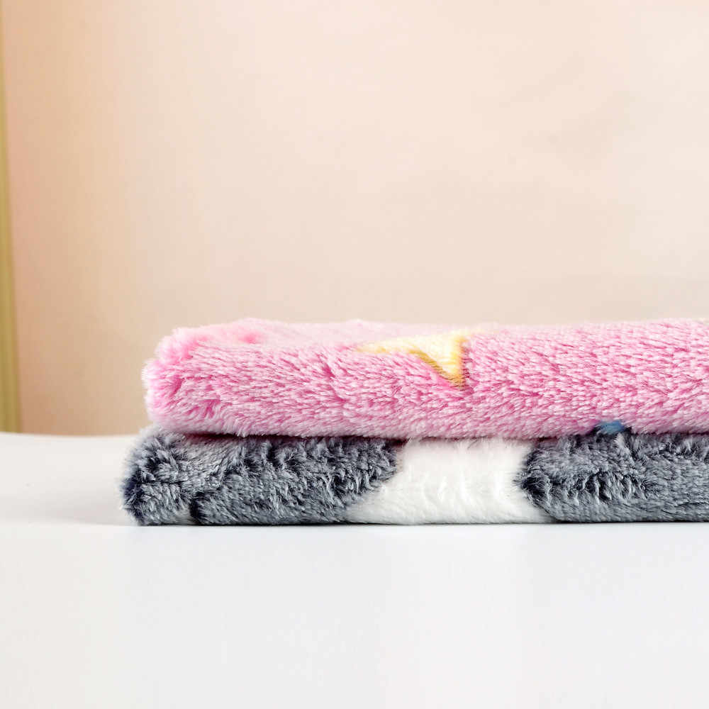 2018 ペット犬猫ベッド犬猫残り毛布通気性ペットクッションソフト暖かい睡眠マットカバーのための犬猫残り 0404