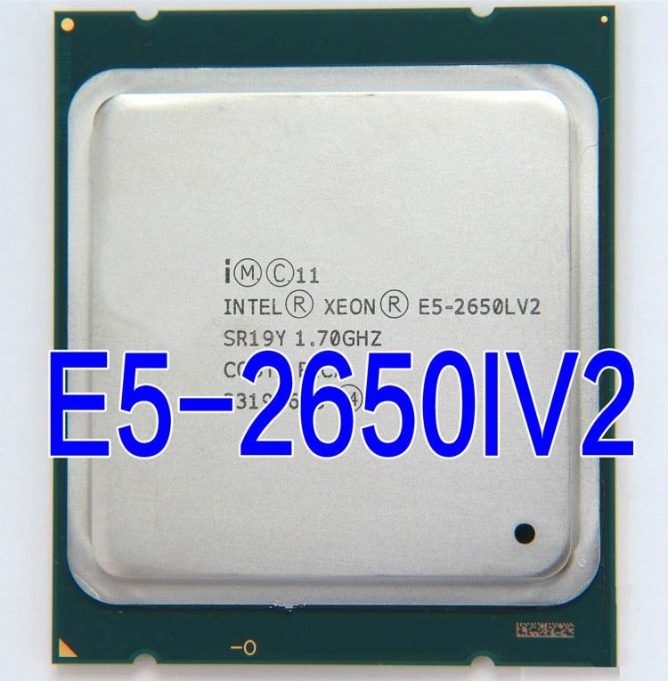 Intel Ксеон E5 2650L V2 процессор 1,7 ГГц 25 м Кэш LGA 2011 SR19Y E5-2650L V2 ЦП сервера
