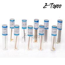 10 шт./лот, цилиндрический штыревой калибр, гладкий штепсельный калибр, манометр 0,5-5,99 мм, 6-9,99 мм, шаг 0,01 мм, штыревой калибр, измерительный инструмент