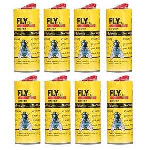 Image 3 - 8 Pcs Insect Lijm Tape Strips Sticky Fly Papier Elimineren Vliegt Bug Catcher Trap handig en praktische Huishoudelijke HOT Koop