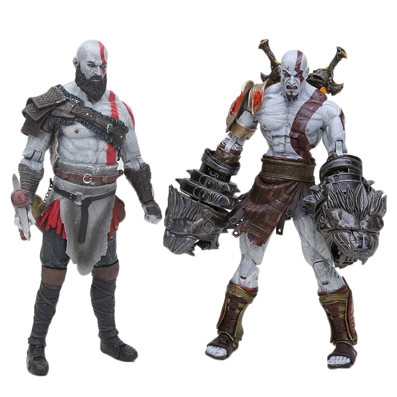 18cm God of War 3 Ghost of Sparta Ultimate Kratos PVC Action Figure Collection Toy Doll hasee god of war g8 kp7s1 gtx1070 8g 17 3 дюйма игровой ноутбук i7 7700hq 16g 256g 1t rgb клавиатура win10