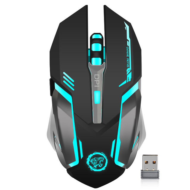 Rechargeable Wireless Gaming Mouse 7 color Backlight