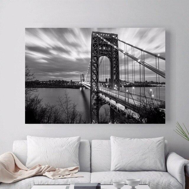 4 06 25 De Réduction New York 3d Chambre Papier Peint Paysage Toile Art Impression Peinture Affiche Mur Photos Pour La Décoration De La Maison