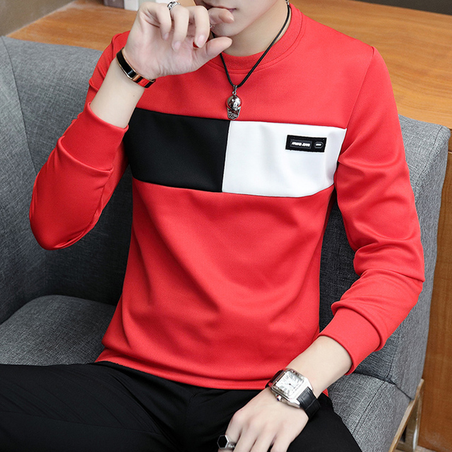 Men's Knitted Casual Long Sleeve Pullover