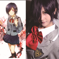 tokyo ghoul cosplay costume Japanese girls school uniform skirt women anime clothes adult suit