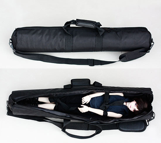 Carrying Bag Out Package Seismic Lightweight Minimalist Thick for BJD Doll 1/4 1/3 Uncle Bjd Doll Accessories AC23 fashion bjd doll retro black linen pants for bjd 1 4 1 3 sd17 uncle ssdf popo68 doll clothes cmb67