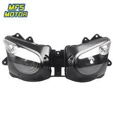 For 06-07 Kawasaki Ninja ZX10R ZX-10R Motorcycle Front Headlight Head Light Lamp Headlamp Assembly 2006-2007 цена в Москве и Питере