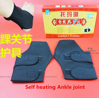 Autocalentamiento tobillo médica turmalina autocalentamiento tobillo aliviar el dolor terapia térmica invierno luz protector hombres mujeres