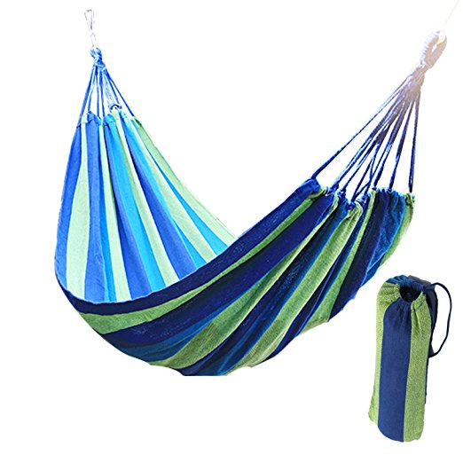 IPDTG Big Size 303cm*150cm Two-person Hammock Courtyard Outdoor Adult Swing Wild Camping Hanging Bed Ship From Germany Stock