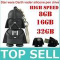 Unidad de almacenamiento Nueva venta CALIENTE Star wars Oscuro Darth Vader usb 2.0 flash drive 32/64/128/256/512 GB pen drive unidad flash memory stick!