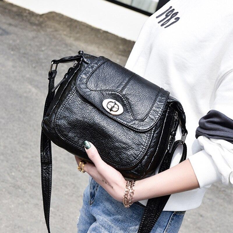 2017 Vintage women brand Small Crossbody Bags Clutch women Leather Bag Handbag Sac a Main Femme Ladies Messenger Bag Long Strap