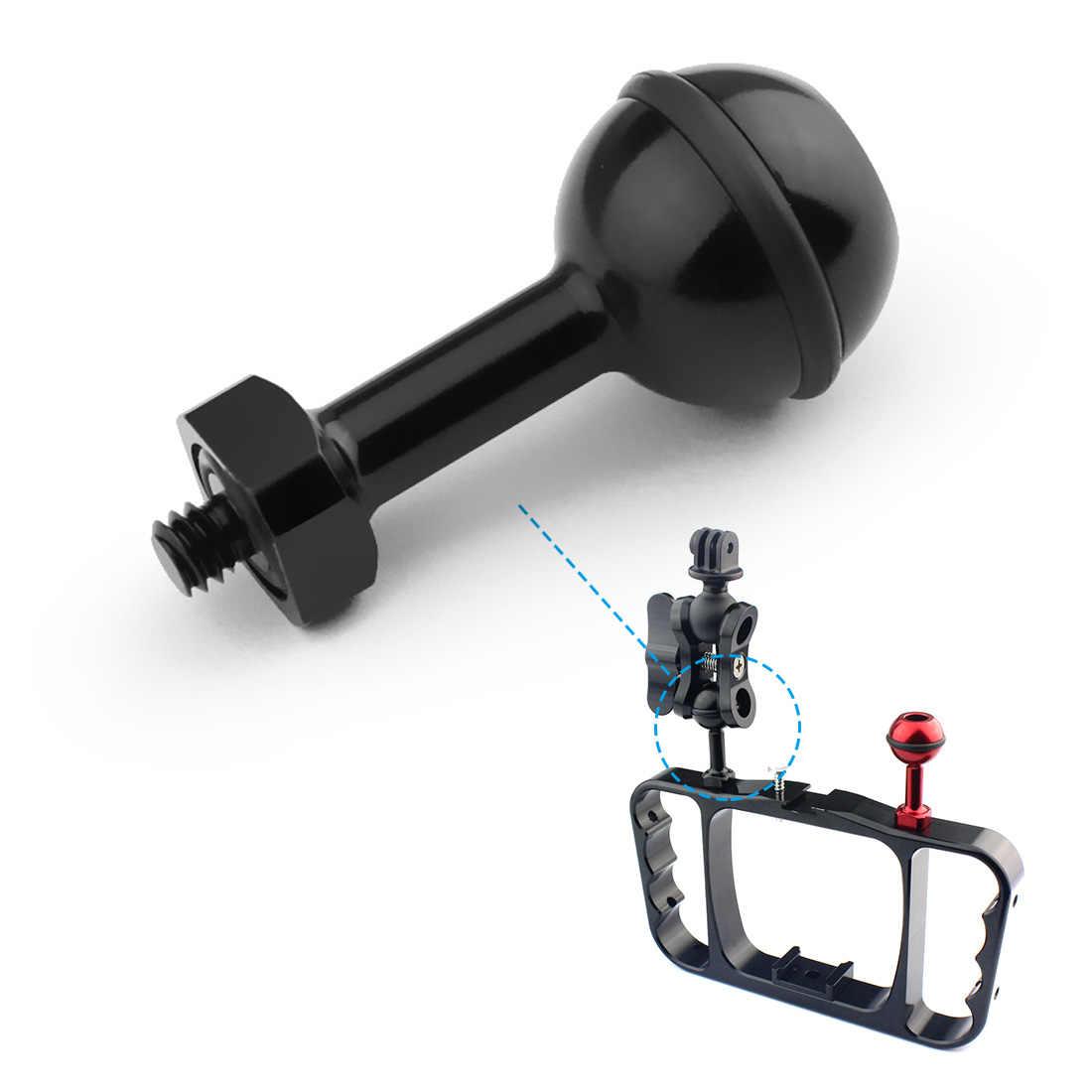 BGNing アルミ合金 1/4 インチねじ調節可能なボールヘッド用 7 6 5 4 SJCAM dji osmo アクションカメラ