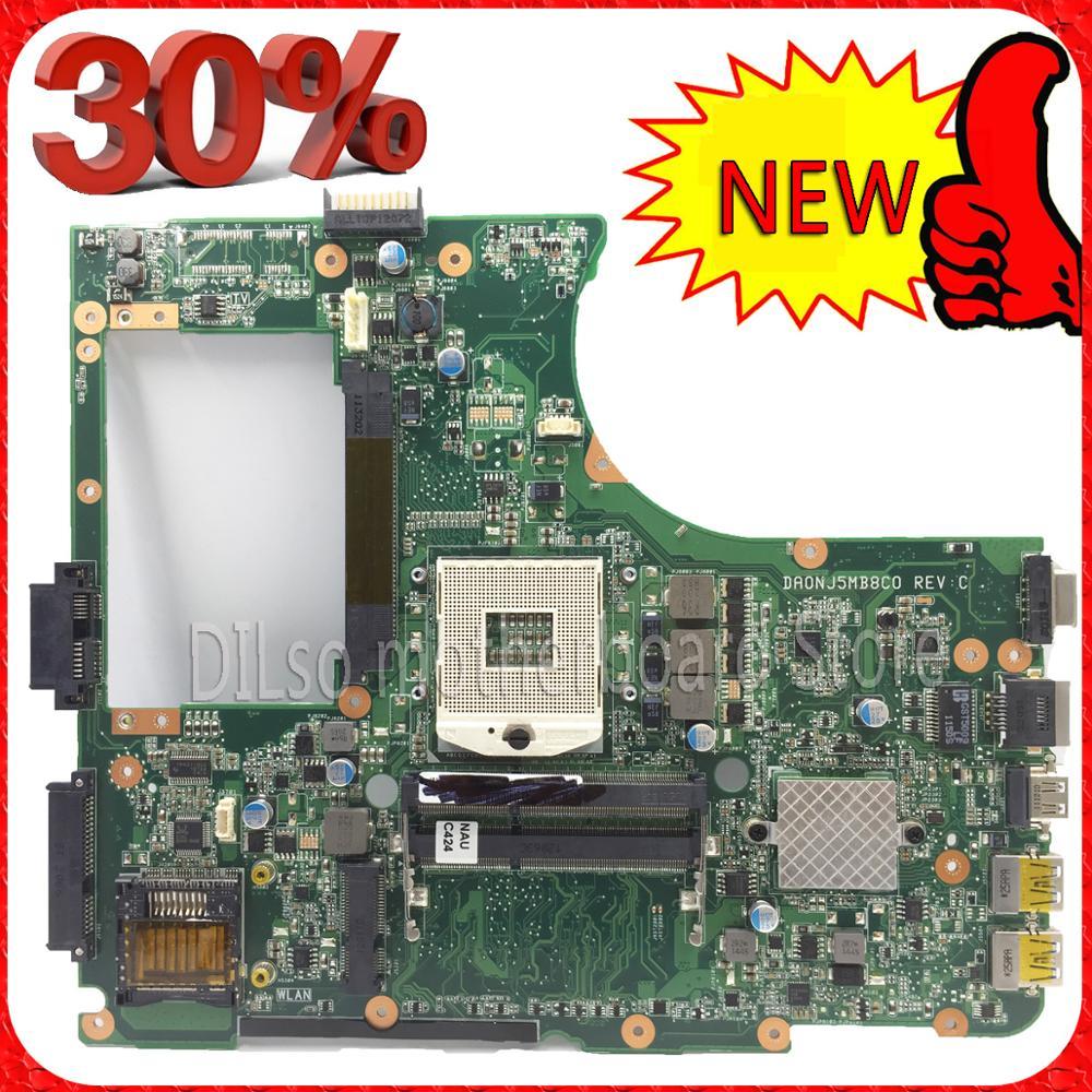 KEFU N55SF For ASUS N55SL N55SF laptop motherboard n55sf  motherboard rev2.0 usb 3.0 motherboard  USB3.0 100% tested laptop motherboard fit for asus n55sf n55sl n55s rev 2 0 60 n5fmb3600b03 hm65 ddr3 full tested