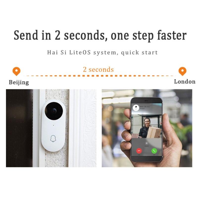 960P Smart Wifi Doorbell Wireless Security Visual Intercom Recording Video Doorbell