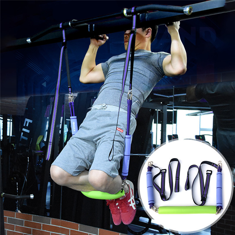 Resistance Bands Pull-Up Equipment Elastic Arm Strength Hanging Train Strap Fitness Exerciser Workout Suspension Trainer Belt 5pcs set 0 35 1 1mm yoga resistance bands arm thigh strength training fitness belt exerciser force equipment strap wholesale