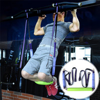 Resistance Bands Pull Up Equipment Elastic Arm Strength Hanging Train Strap Fitness Exerciser Workout Suspension Trainer Belt