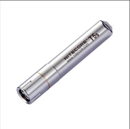 Nitecore T5s Cree XP-G R5 Led steel Flashlight 65-lumen 4-mode Keyring Light Top Fasion Rushed Aaa White nitecore cb6 cree xp g2 r5 white 440lm led flashlight powerful 3000mw blue light to identify the blood trail flashlight