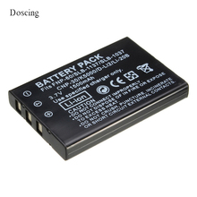 High Quality 3.7V 1500mAh  NP-60 NP 60 NP60 Rechargeable Lithium Battery For FUJIFILM FUJI FinePix M603 F601 F410 F401 50i Zoom