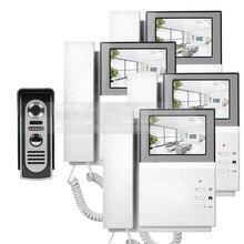 DIYSECUR 4.3inch 800 x 480 HD Screen Video Door Phone Video Intercom Doorbell + 600 TVLine IR Night Vision Outdoor Camera