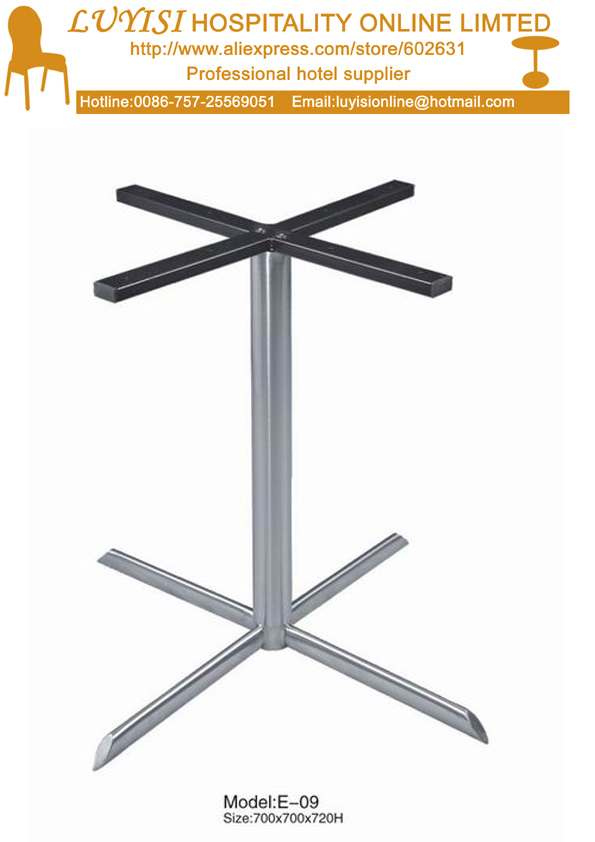 Fashion Quality Polished Stainless Steel  Coffee Table Base