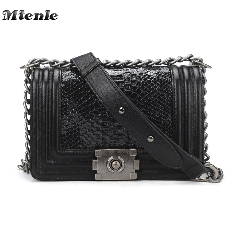 MTENLE Serpentine Woman Shoulder Bags Luxury Leather Handbags Famous Brand Women Bag Designer Messenger Bags Snake Sac a Main H qiaobao luxury women bags designer handbags high quality genuine leather bag famous brand retro shoulder bag rivet sac a main