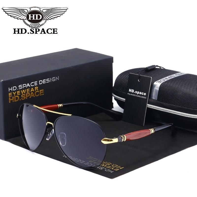 HD Luxury Design Men Women Polarized Sunglasses Mirror Coating Eyewear Police Pilot Unique Oculos De Sol UV Driving Gafas LD033