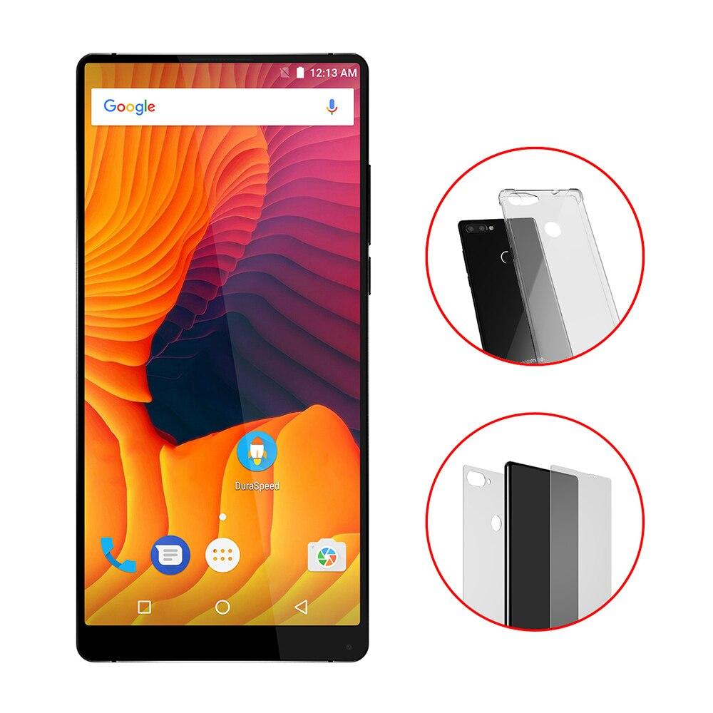 Vernee Mix 2 4g Smartphone 6.0 Android Octa Core 4 gb 64 gb Mobile Téléphone Double Arrière Caméras d'empreintes digitales Scanner Portable MIX2 Nouveau
