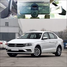 On sale BigBigRoad For vw Bora Car wifi DVR Car Driving Video Recorder FHD 1080P front camera Car black box Keep Car Original Style