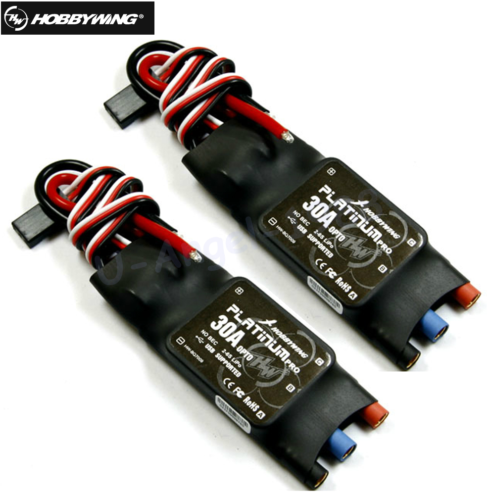 2pcs/lot Hobbywing Platinum 30A OPTO PRO Cob ESC 2S to 6S Speed Controllers Multi-rotor Copter Wholesale free shipping 2pcs lot hobbywing platinum 30a pro 2 6s electric speed controller esc opto specially for multi rotor