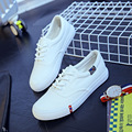 Student White Woman Canvas Shoes Breathable New Spring and Summer 2016 Korean Version Size 35-40