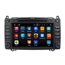 Android 7.1.2 System Car DVD Player for Mercedes Benz A-Class W169 B-Class W24 Sprinter Viano Vito with GPS Navigation