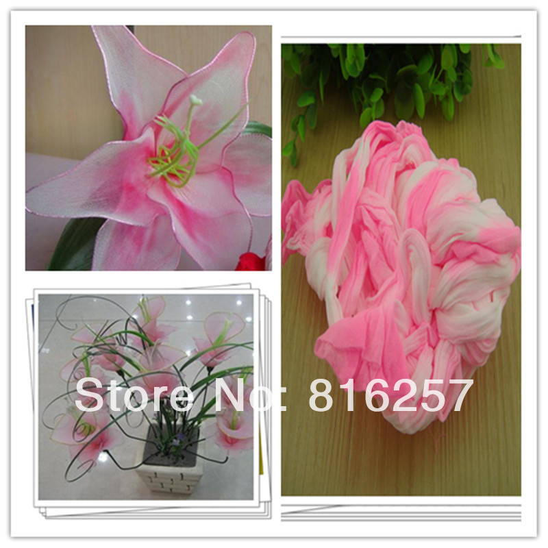 54 colors mix shipping or only one color ship double color stocking 54 colors mix shipping or only one color ship double color stocking flowersnylon flower silk flower making diy flowers craft in artificial dried mightylinksfo