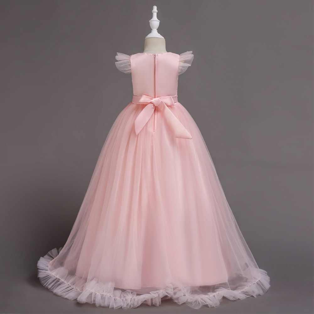e419bbb5e Detail Feedback Questions about Cielarko Long Dress for Girls Flower ...