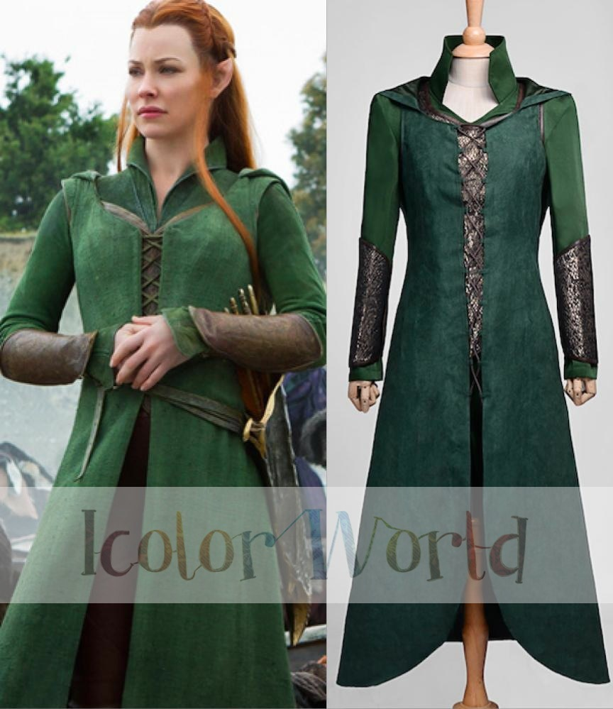 The Hobbit Desolation of Smaug tauriel Costume Cosplay costume dress