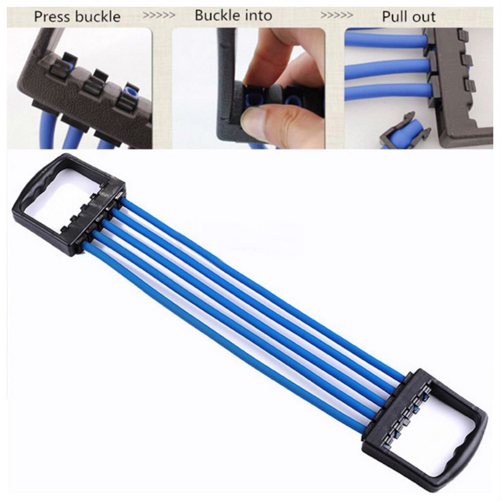 Portable Indoor Sports Chest Expander Puller (29)