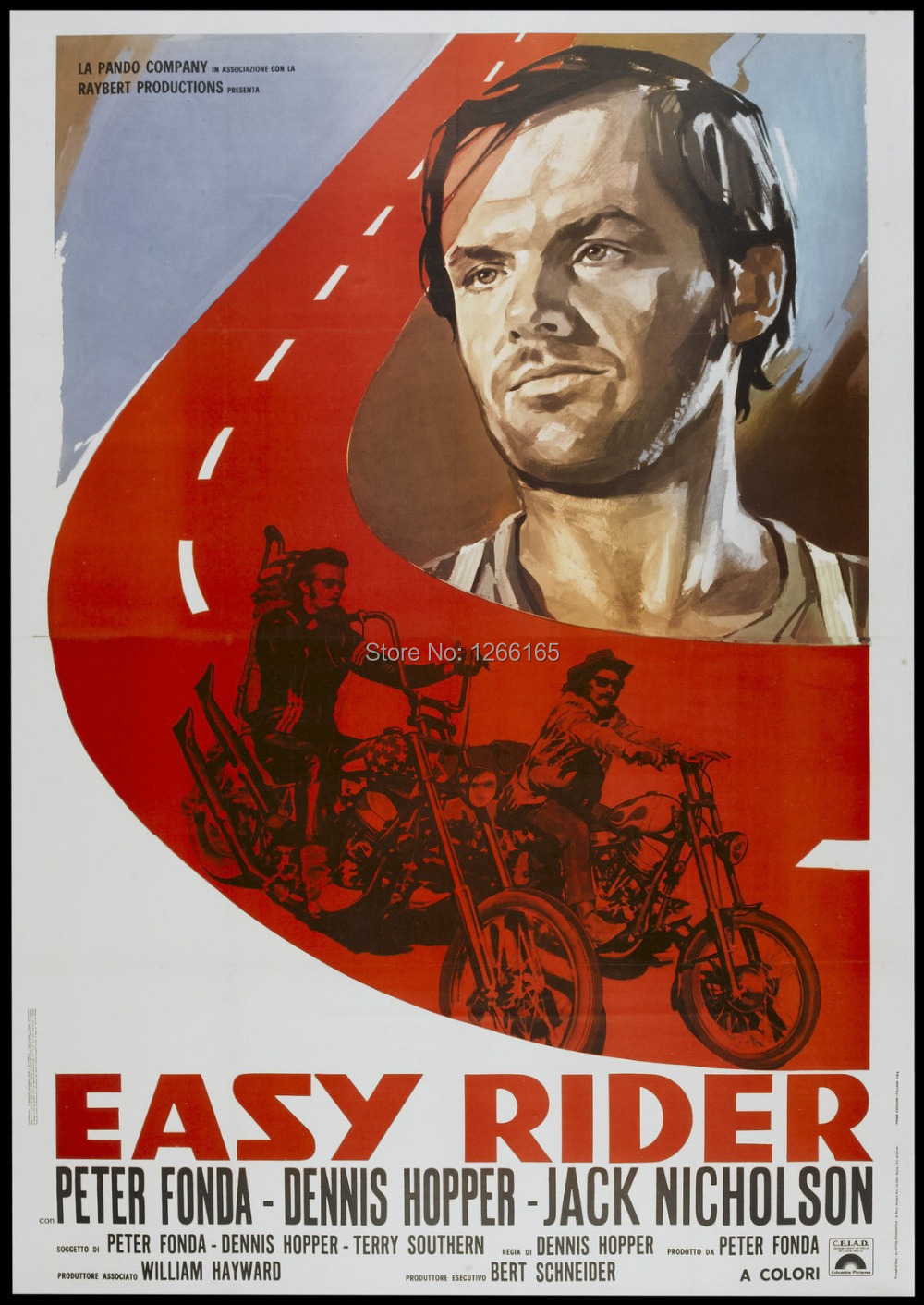 Aliexpress.com : Buy EASY RIDER Movie Poster 1969 Hells Angels ...