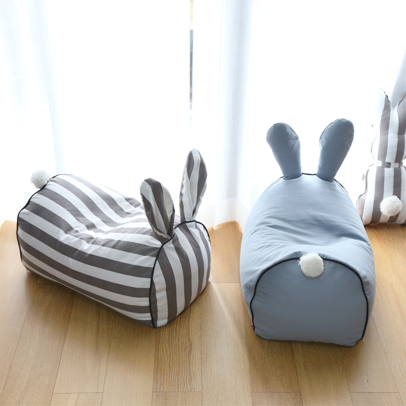 Cartoon Baby Lazy Sofa Bean Bag Bed Babies From Birth Onwards Your Baby Comfortable Baby Chair Lazybones Rabbit And Pig Sofa