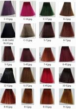 Professional hair color cream