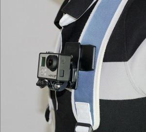 Image 4 - F08051 360 Degree Bag Strap Quick Release Clip Clamp Mount J Hook Version for Gopro Hero3/3+/4/5 Sport Camera