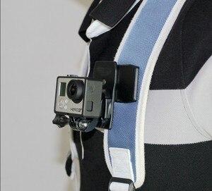 Image 4 - F08051 360 Độ Túi Nhanh Chóng Phát Hành Kẹp Gắn J Móc Phiên Bản Cho GoPro Hero3/3 +/4/5 Camera Thể Thao